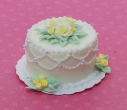 Sheet Doily Cake