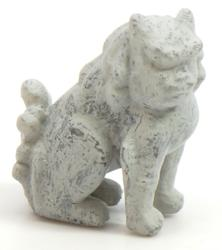 Front of Japanese Lion Statue