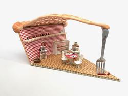 Lattice Wine Rack Kitchen Cabinet