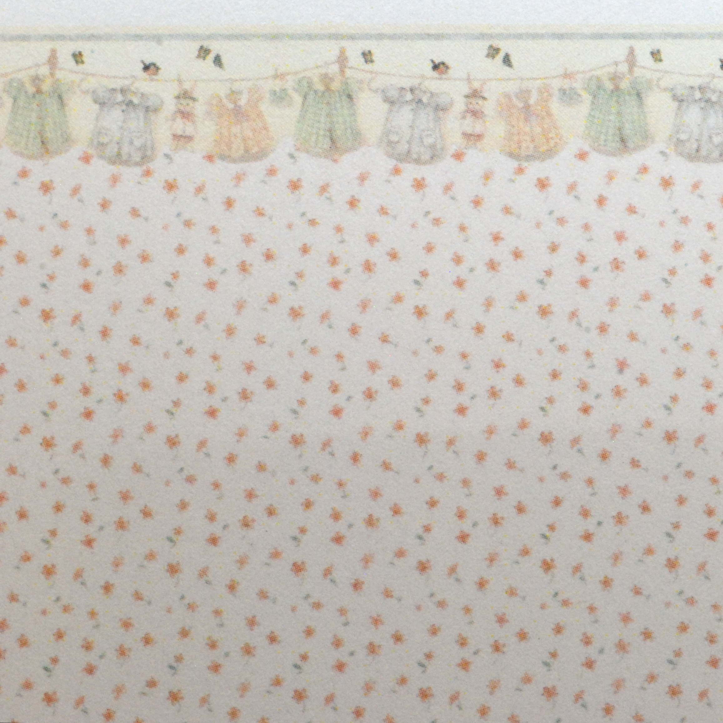 1 48 Wallpaper Quot Baby Clothes Quot Stewart Dollhouse Creations
