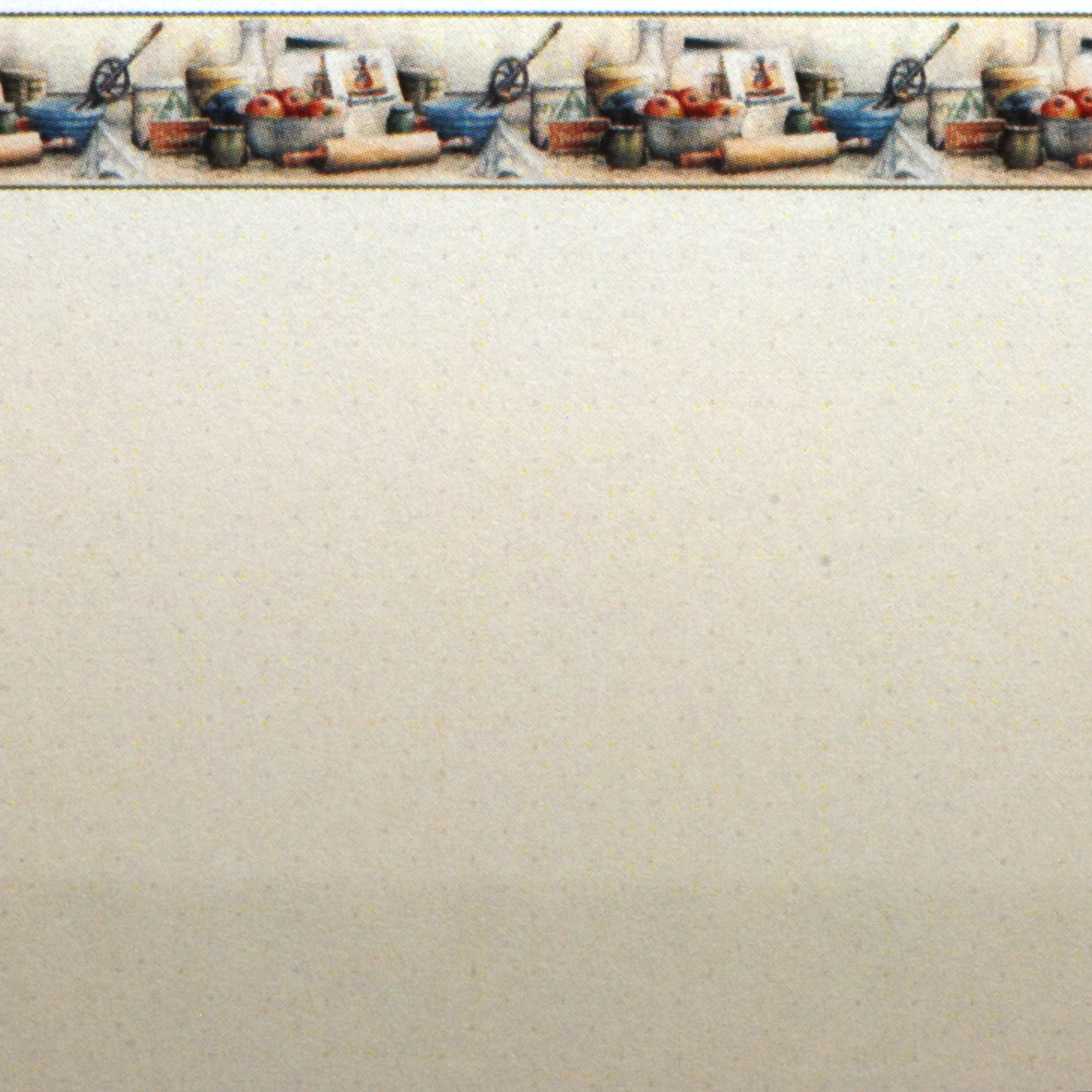 Rasch apples vinyl kitchen wallpaper 824506 cream cut price - Wallpaper By Topics Kitchen Wallpaper Border