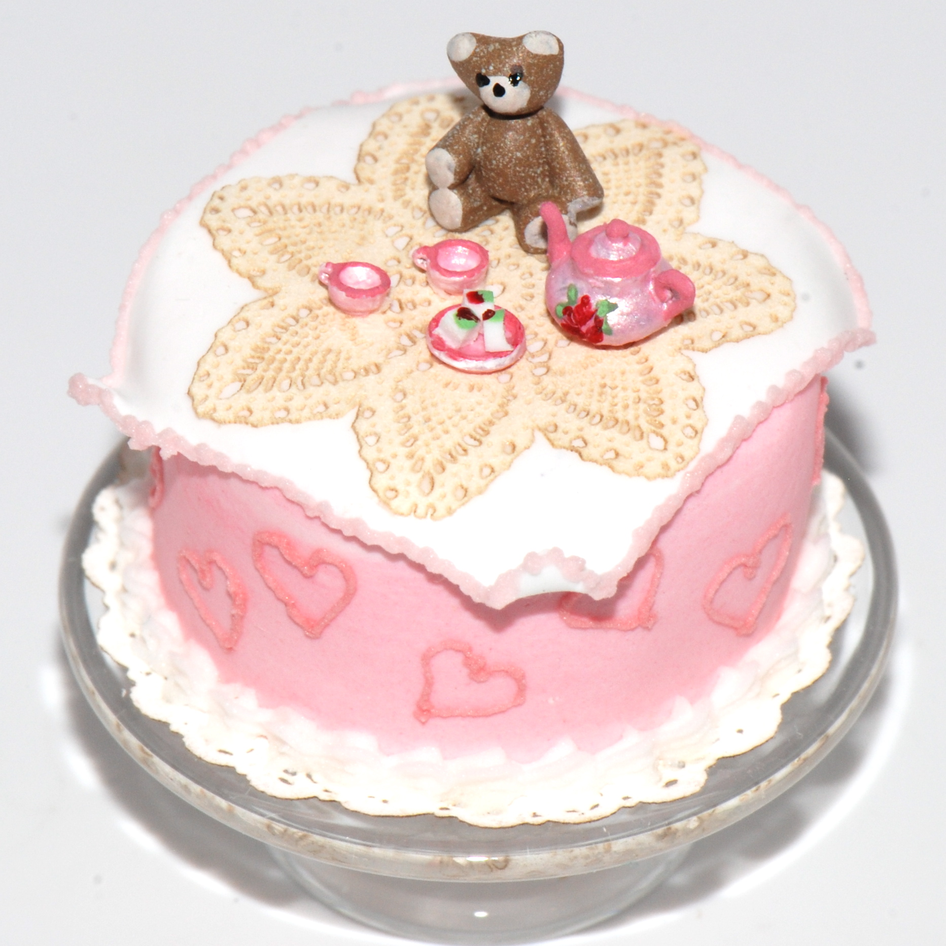 Teddy Bear Cake Ideas St Birthday