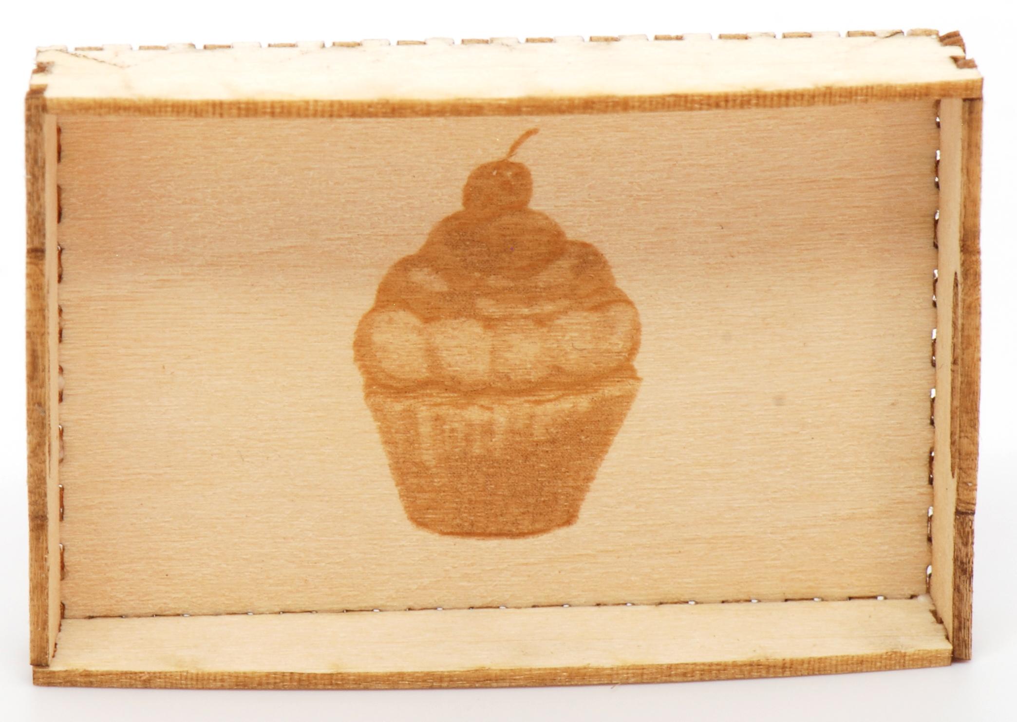 12 Cupcake Tea Tray Kit | Stewart Dollhouse Creations