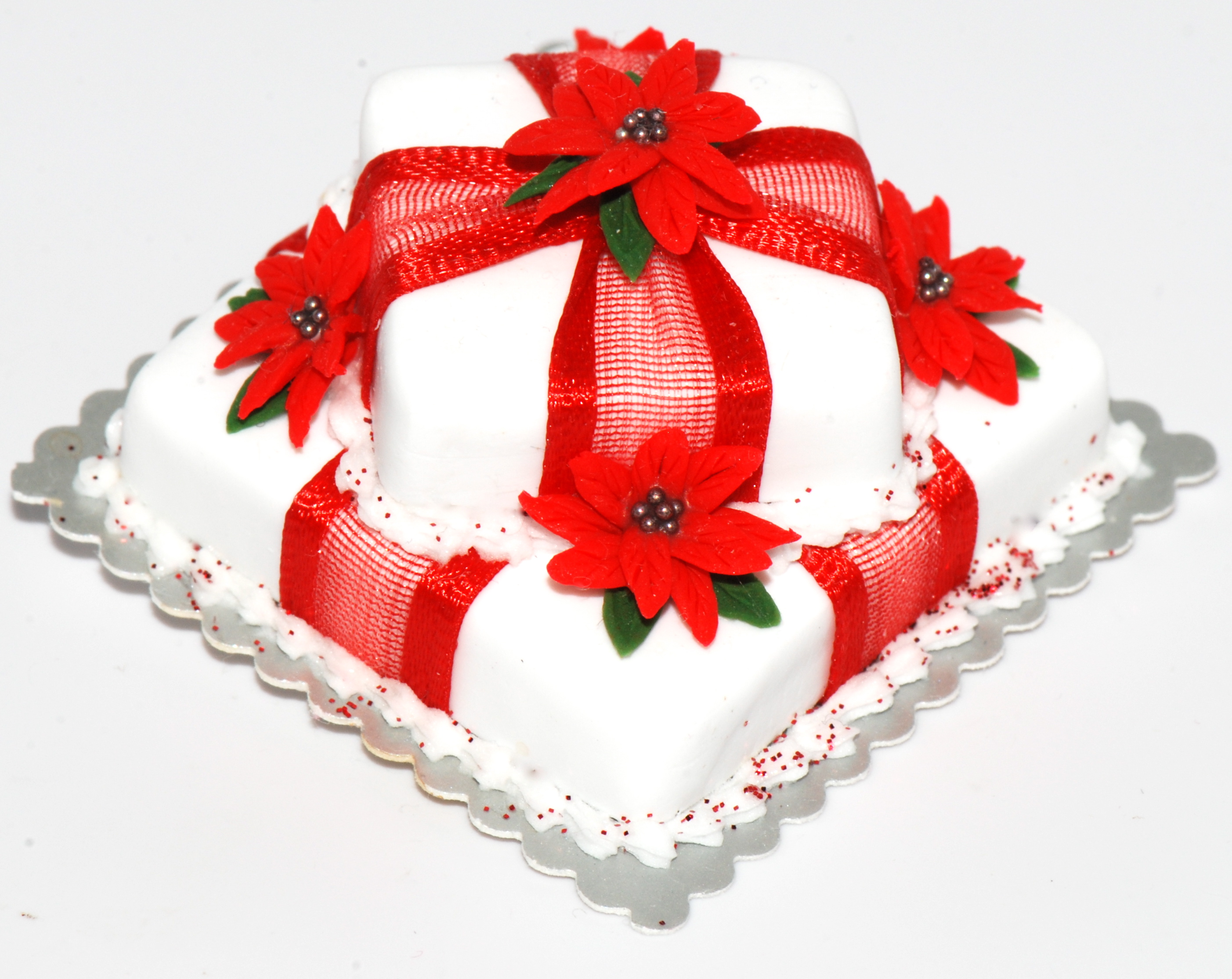 Christmas Cake Ribbon