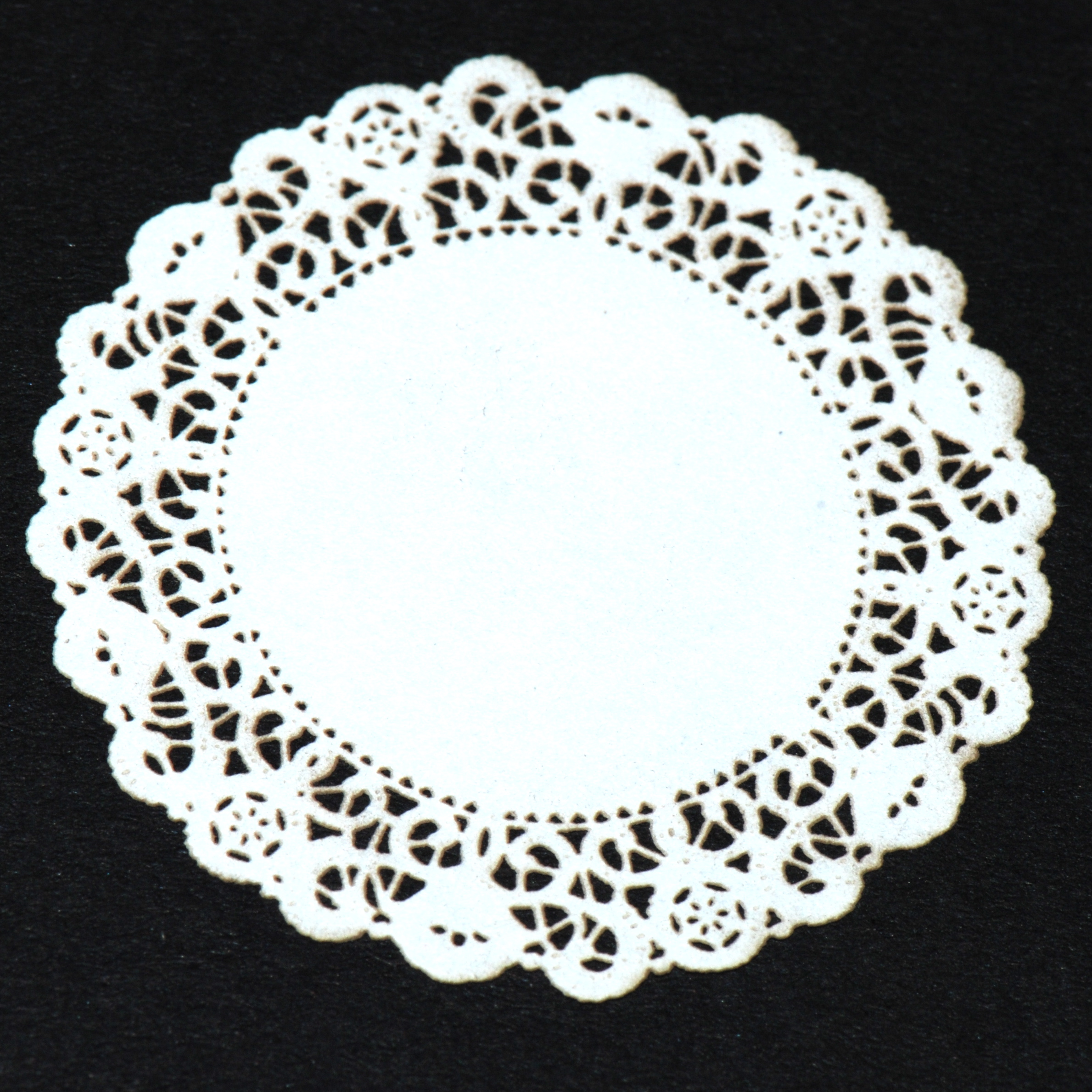 At Home Decor Large White Lace Doily 23 Stewart Dollhouse Creations