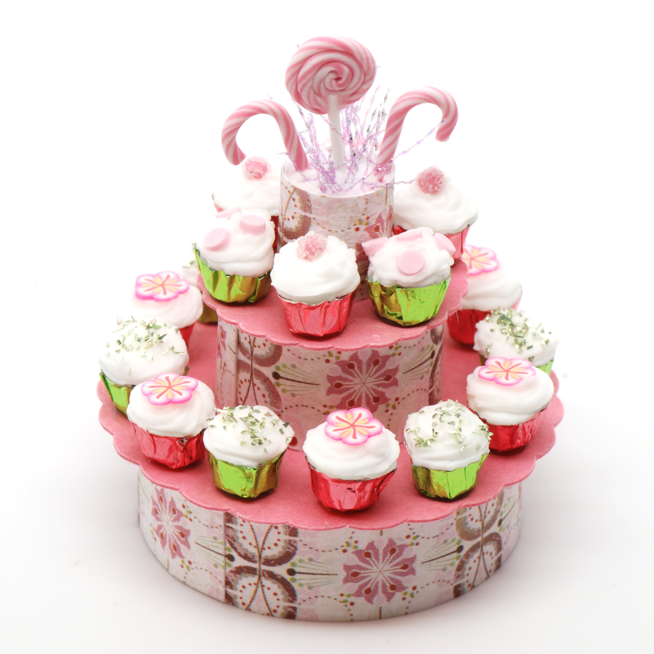 how to display cupcakes