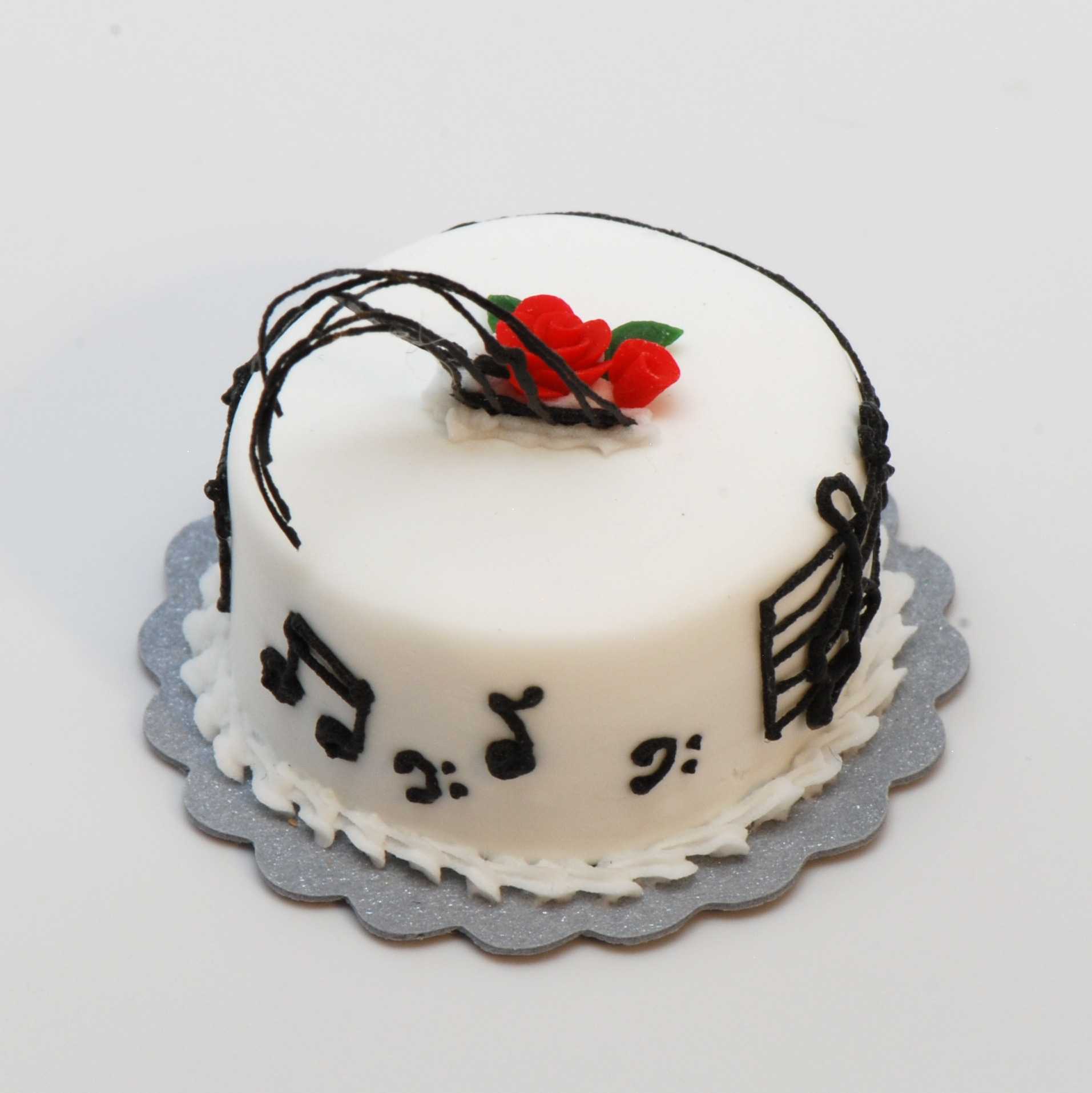 Music Note Cake Topper