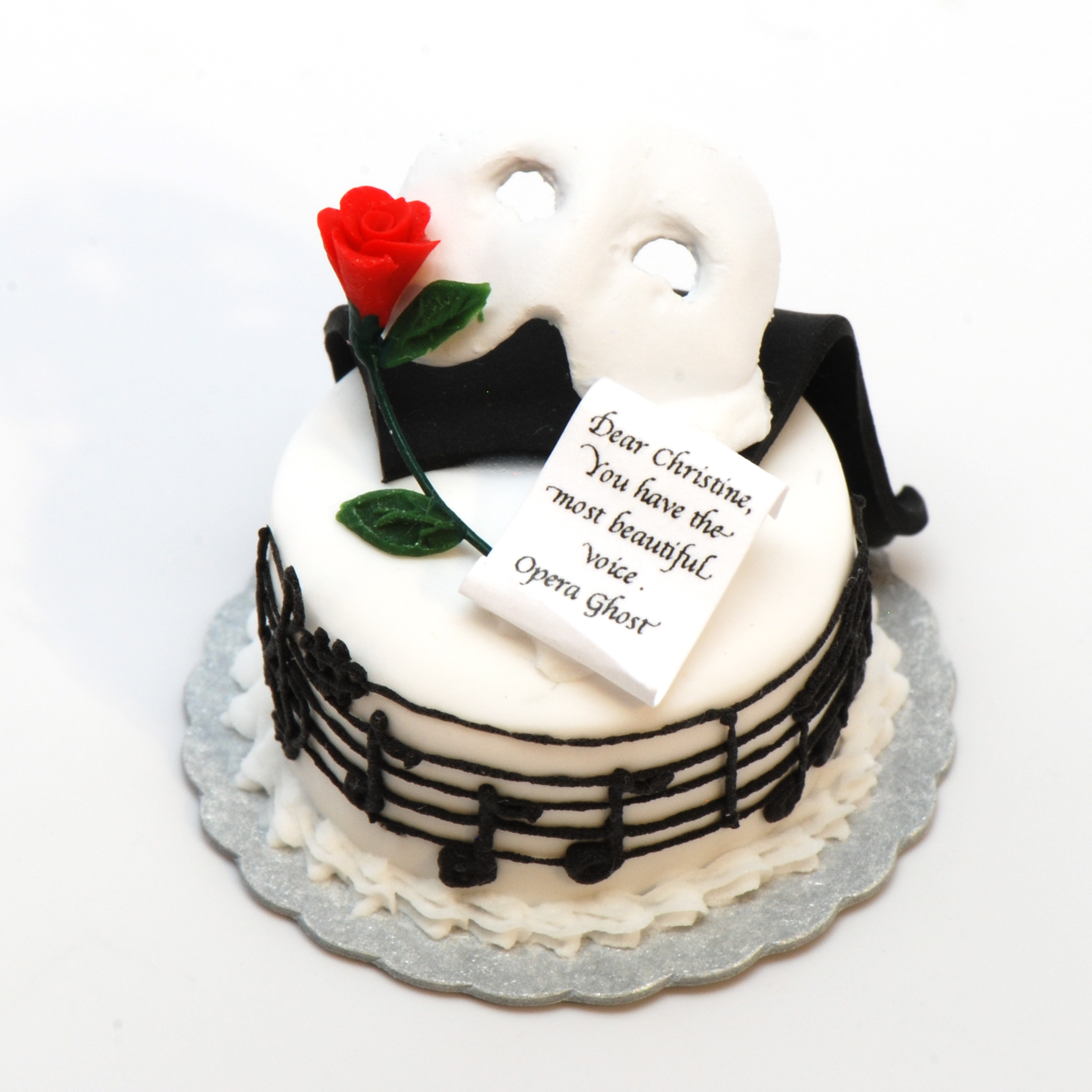 Opera Birthday Cake
