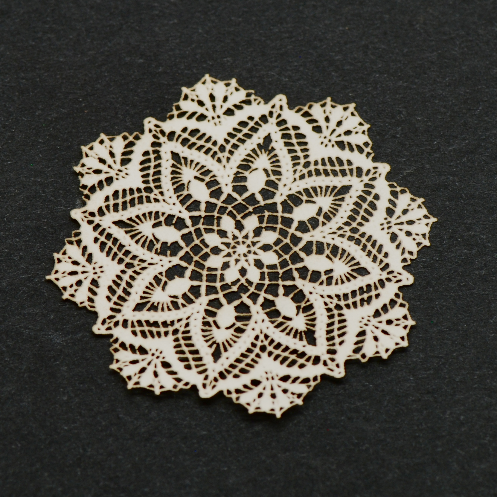 Antique Laser Cut Doily 57 Stewart Dollhouse Creations