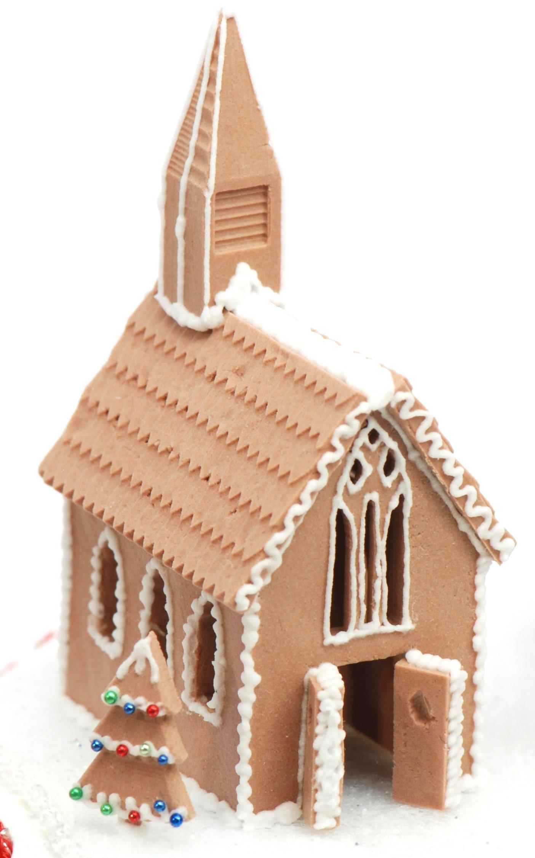 1 12 Gingerbread Church Mold Brand New Stewart