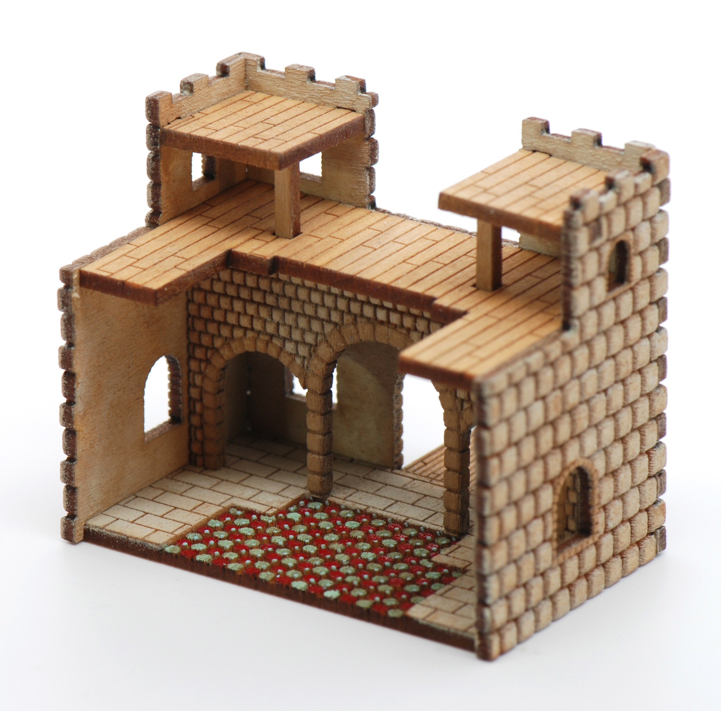 Castle Kit Stewart Dollhouse Creations