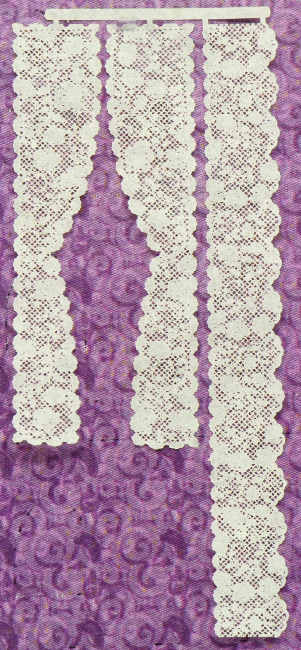 1:48 Rose #4 Single Panel Lace Curtains | Stewart ...