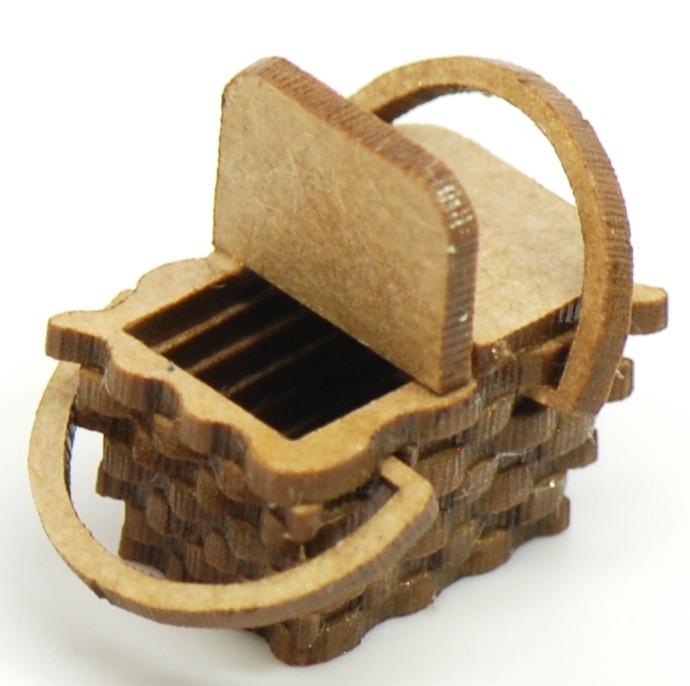 Picnic Basket Kit : Picnic basket kit stewart dollhouse creations