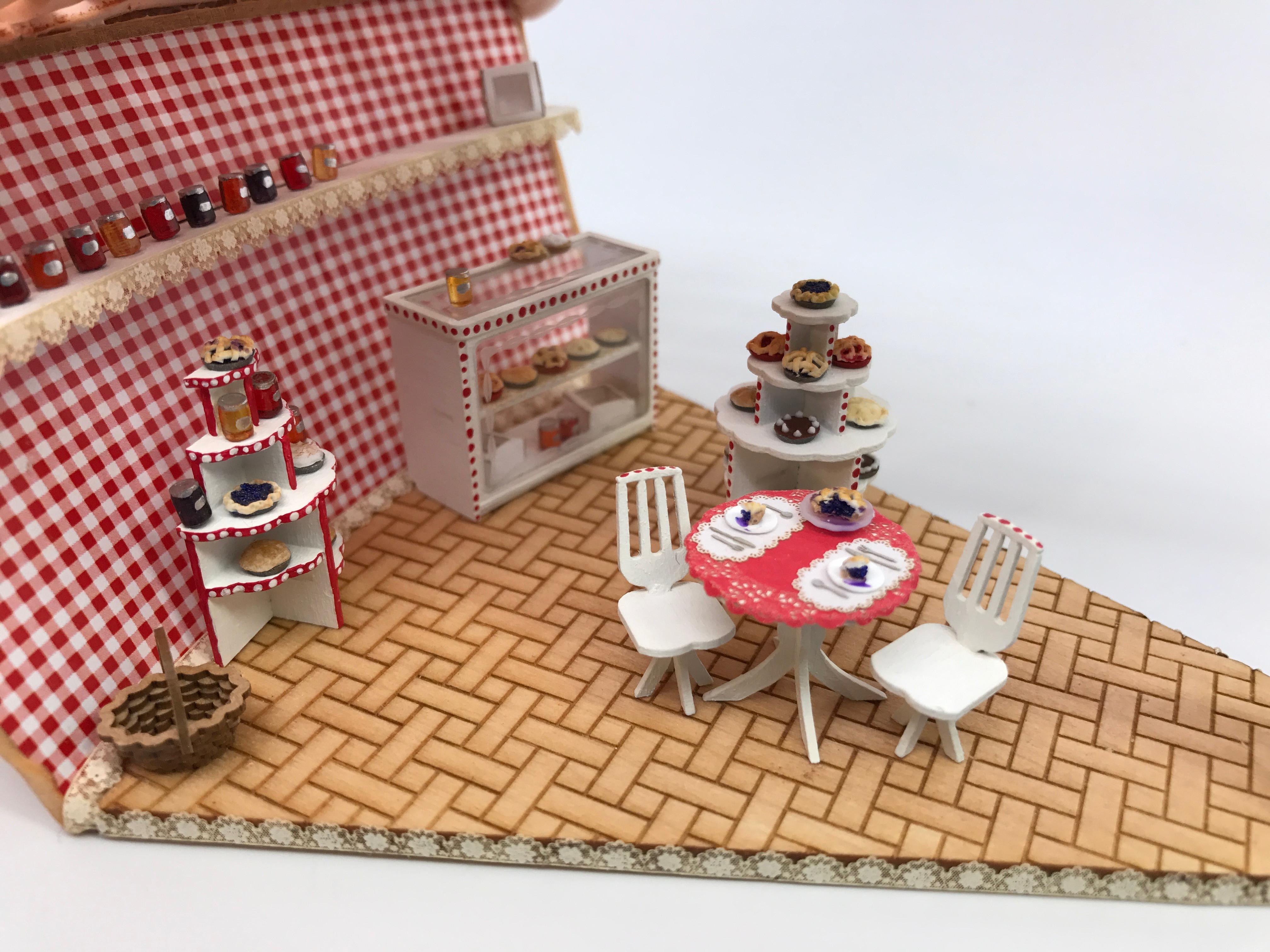 1 48 Cherry Pie Shop Stewart Dollhouse Creations
