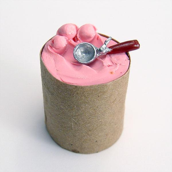 Ice Cream Filled Cake Recipe