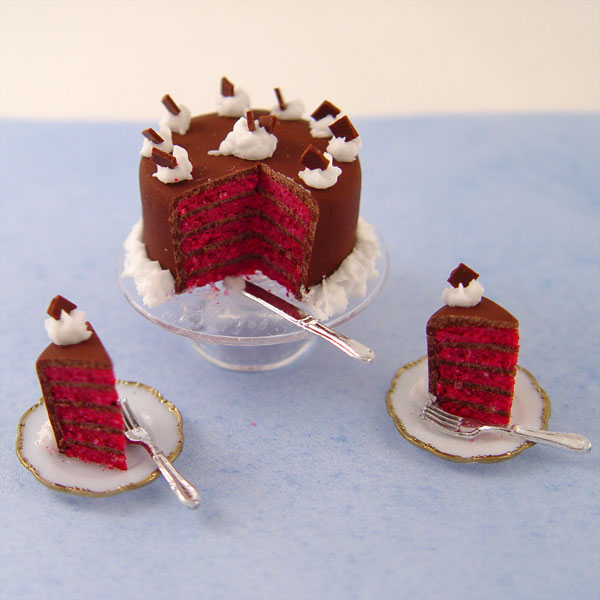 Red Velvet Cake With Tomato Soup