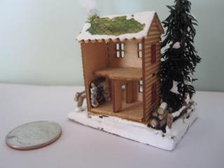 Log Cabin kit #3 | Stewart Dollhouse Creations