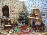 Christmas Scene at Broken Wheel Gallery
