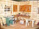 Work Shop at Broken Wheel Gallery