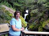 Ruth at Glacier National Park
