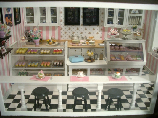 Contact US >> Cupcake Shop #6 | Stewart Dollhouse Creations