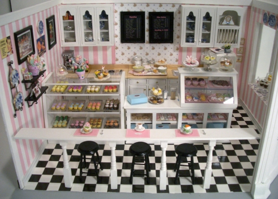 free miniature dollhouse wallpaper